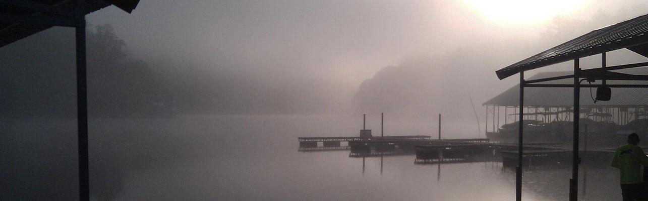 Foggy LaPrade's Morning on Lake Burton Header