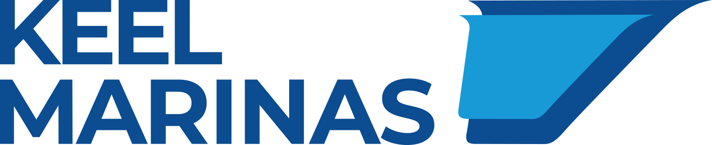 Keel Marinas Blue Logo