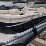 rental pontoon boat lake burton