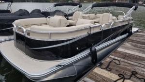 rental pontoon boat lake burton